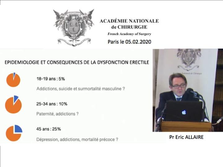 Professeur Allaire Académie Nationale de Chirurgie
